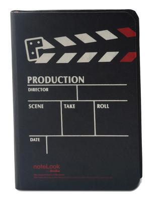Notelook Production A6 Dikey Çizgili Siyah 100 Yaprak 70 T000Dftproba6V