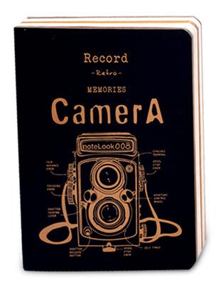 Notelook Kamera B5 Çizgisiz Sarı 100 Yaprak 70 Gr T001Dftcamyb5A