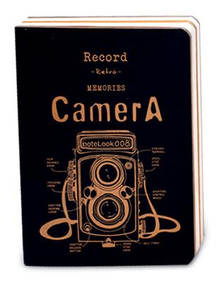 Notelook Kamera A6 Çizgili Sarı 100 Yaprak 70 Gr T000Dftcamya6A