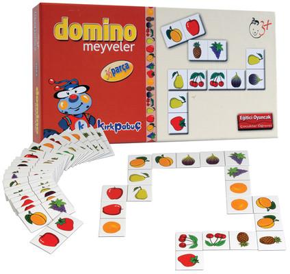 Kirkpabuç Meyveler - Domino (Karton) 7023