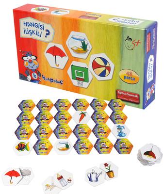 Kirkpabuç Iliskiler - Memory Hafiza Oyunu (Karton) 7202