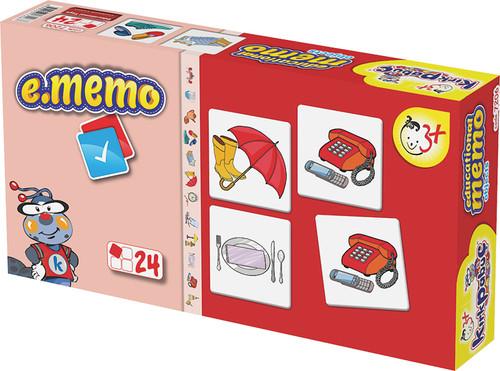 Kirkpabuç Esyalar - Memory Hafiza Oyunu (Karton) 7206