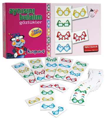 Kırkpabuç 7302 Gözlükler Aynısını Bulalım Kutu Oyunu