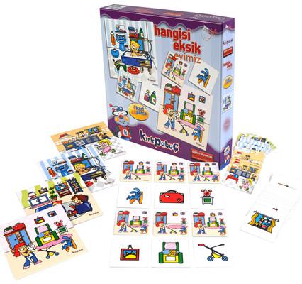Kirkpabuç Evimiz - Hangisi Eksik Kutu Oyunu (Karton) 7305