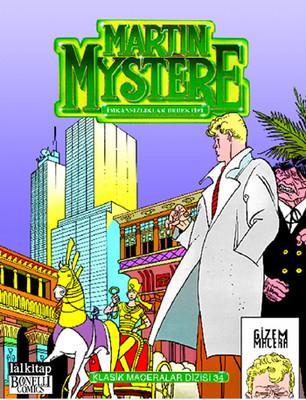 Martin Mystere Klasik Maceralar Dizisi - 34