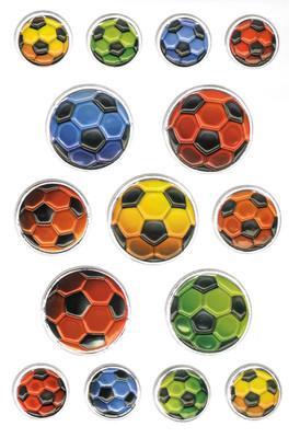 Herma Çocuk Etiketleri Renkli Futbol Toplari 6251
