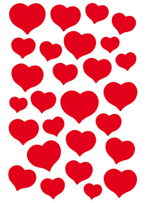 Herma Çocuk Etiketleri Kalp Tas 3254