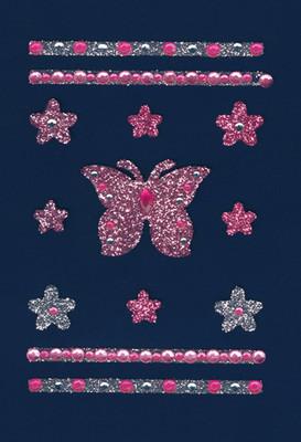 Herma Glamrocks Kristal Kelebek ve Çiçekler 6003