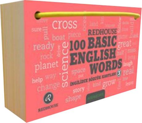 Redhouse 100 Basic English Words 3