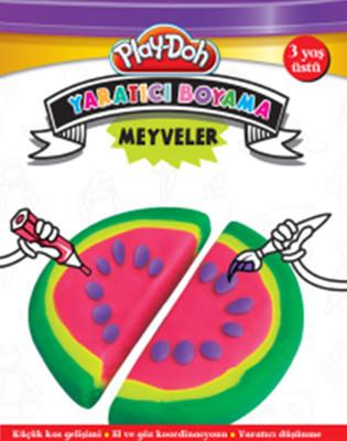 Play-Doh Yaratıcı Boyama Meyveler