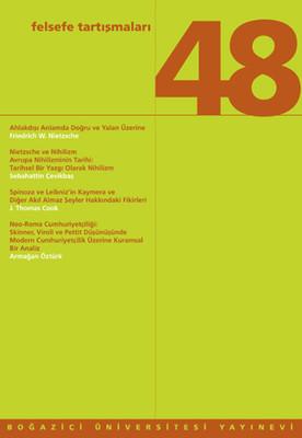 Felsefe Tartışmaları 48