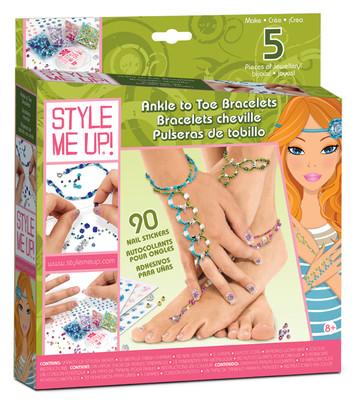 Style Me Up Kendin Yap Aktivite Seti - Şahmeran Bileklik ve Halhal Otto.602