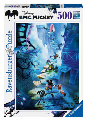 Ravensburger Wd- Epic Mickey 500 Parçali 142408