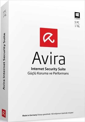 Avira Internet Security Suite 5 Kullanıcı 1 Yıl