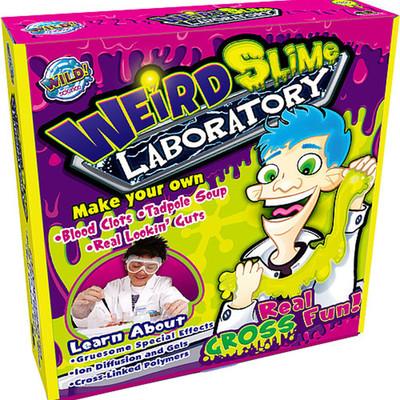 Wild Science Tuhaf Şeyler Laboratuvarı Eğitim Seti
