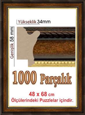Polistiren Çerçeve (68x48 cm) 106110 1000'lik