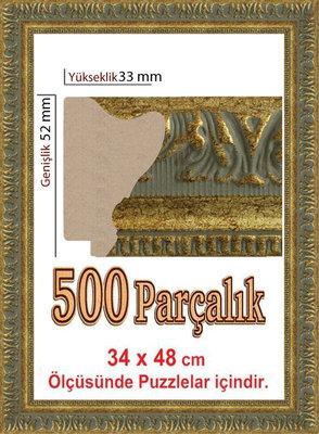 Polistiren Çerçeve (48 X 34 Cm) 4945 500 Lük