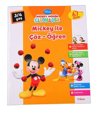 Mickey ile Çöz Öğren 3-4 Yaş
