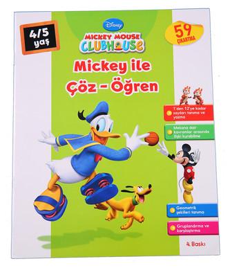 Mickey ile Çöz Öğren 4-5 Yaş