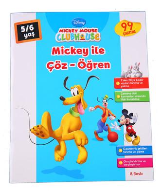 Mickey ile Çöz Öğren 5-6 Yaş