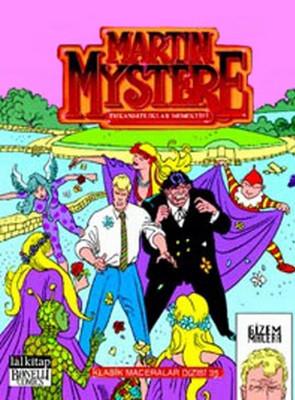 Martin Mystere Klasik Maceralar Dizisi - 35
