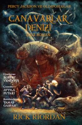 Percy Jackson ve Olimposlular - Canavarlar Denizi Çizgi Roman 2. Kitap