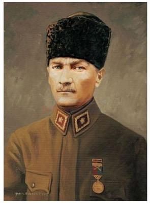 Art Puzzle Başkomutan Mareşal Gazi Mustafa Kemal 1000 Parça 44403