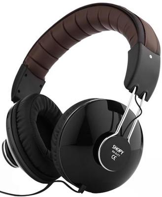 Snopy SN-DJ77 Siyah DJ Mikrofonlu Kulaklık