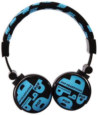 Snopy SN-99C Mavi Kumaş Renk Mikrofonlu Kulaklık