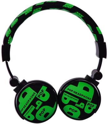 Snopy SN-99C Yeşil Kumaş Renk Mikrofonlu Kulaklık