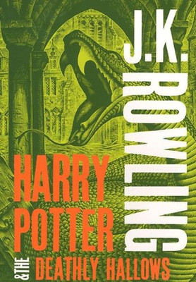 Harry Potter and the Deathly Hallows (Harry Potter 7 Adult Cover)