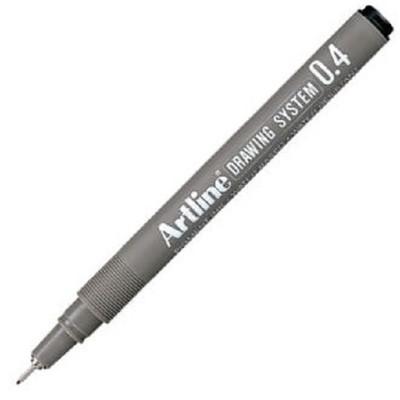 Artline 234 Çizim Kalemi 0,4 Siyah Ek-234/12 S