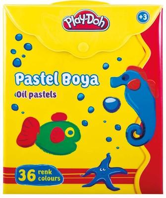 Play-Doh 36 Renk Pastel Boya / Çantali PLAY-PA008