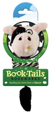 IF 96803 Book Tails Bookmarks Cow/Kitap Ayraci