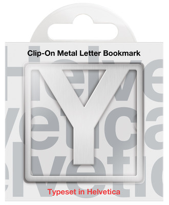 IF 92925 Helvetica Clip-On Bookmarks - Letter Y/Kitap Ayraci