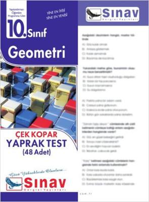 10.Sınıf Geometri Yaprak Test (48 Test)