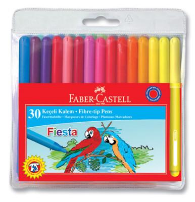 Faber-Castell Fiesta Keçeli Kalem, 30 Lu Poset - 5068350450