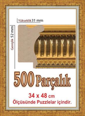 Polistiren Çerçeve (48 X 34 Cm) 4942 500 Lük