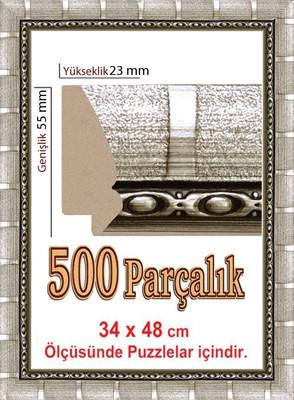 Polistiren Çerçeve (48 X 34 Cm) 4943 500 Lük