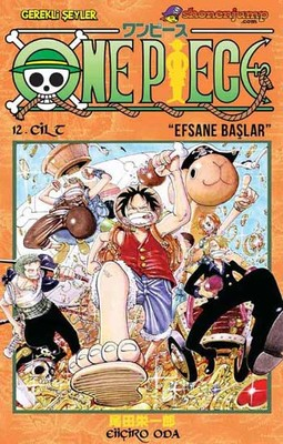 One Piece 12. Cilt - Efsane Başlar