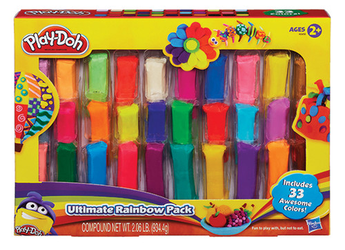 Play-Doh Parmak Hamur Mega Set A3458