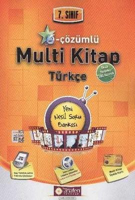 Anafen 7.Sınıf E - Çözümlü Multi Kitap Türkçe