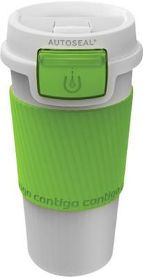 Contigo Autoseal Morgan Plastic Tumbler 360 Ml Morgan Beyaz/Limon Yeşili 1000-0147