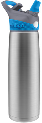 Contigo Autoseal Sheffield İnsulated Water Bottles 650 Ml Sheffield Çelik/Mavi 1000-0091