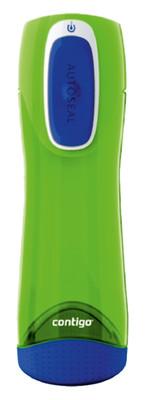 Contigo Autoseal Swish Water Bottles 500 Ml Swish  Limon Yesili/Kobalt Mavisi 1000-0236