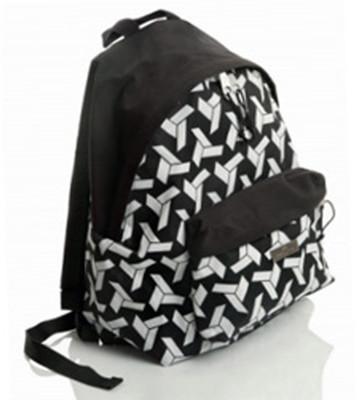 Faber-Castell Basic Çanta Style, Origami Desen Siyah - 5177190121