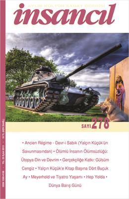 İnsancıl Aylık Kültür ve Sanat Dergisi Sayı: 278