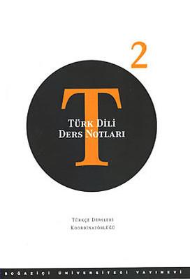 Türk Dili Ders Notları: 2