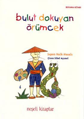 Bulut Dokuyan örümcek Boyama Kitabı Dr Kültür Sanat Ve
