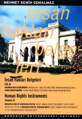 İnsan Hakları Belgeleri Cilt: 3
